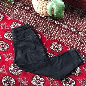 TopShop Black Mom Jeans Petite W28/L28